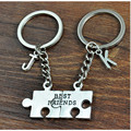 Custom Name Couples keychains llaveros Chaveiro for Lovers Pair Keyring,Personalized Initial Key Chain Gift For Best Friend