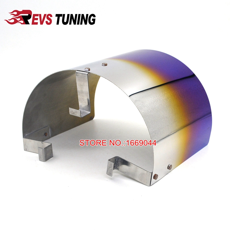 """Universal Stainless Steel Air Filter Heat Shield For 2.25/"""" TO 3.5/"""" Cone Filter"""