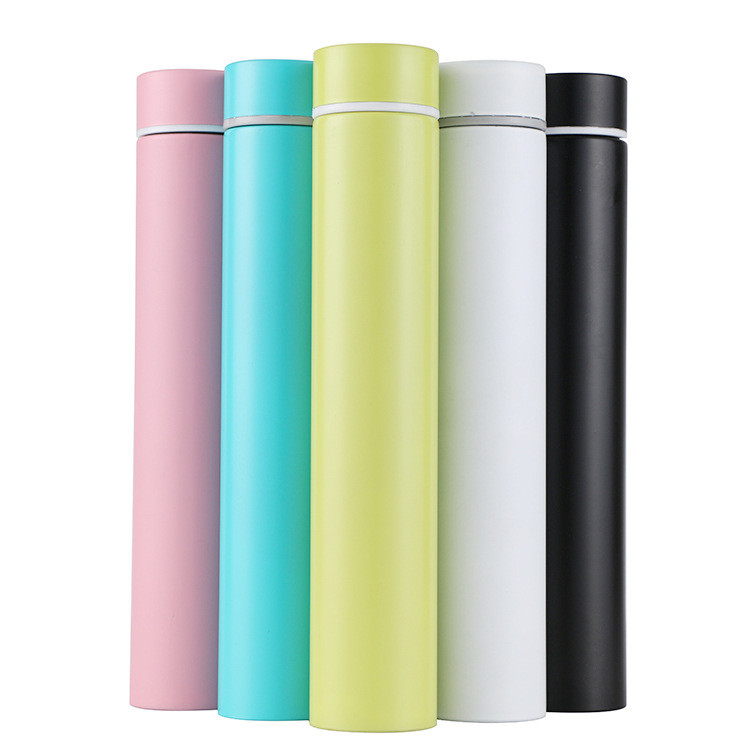 260ml Slim Vacuum Flasks Stainless Steel Insulated Thermos