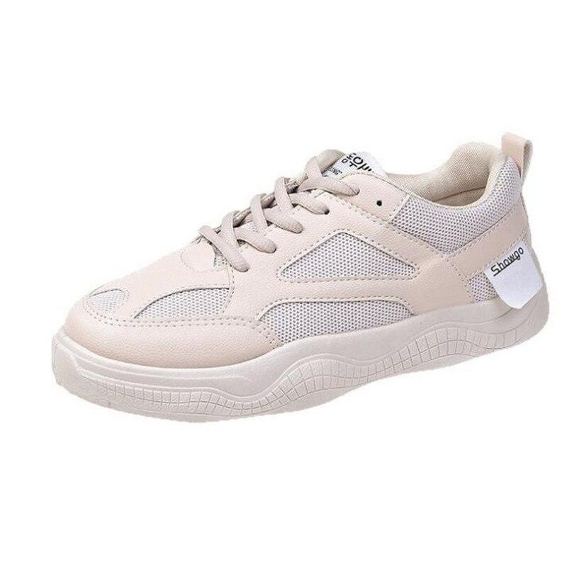 Primavera Blancas Tacón Chussures Vulcanizados 3 Zapatillas Zapatos Transpirables Cm Tenis Plataforma De Femme Mujer 2019 IEDHYW92e