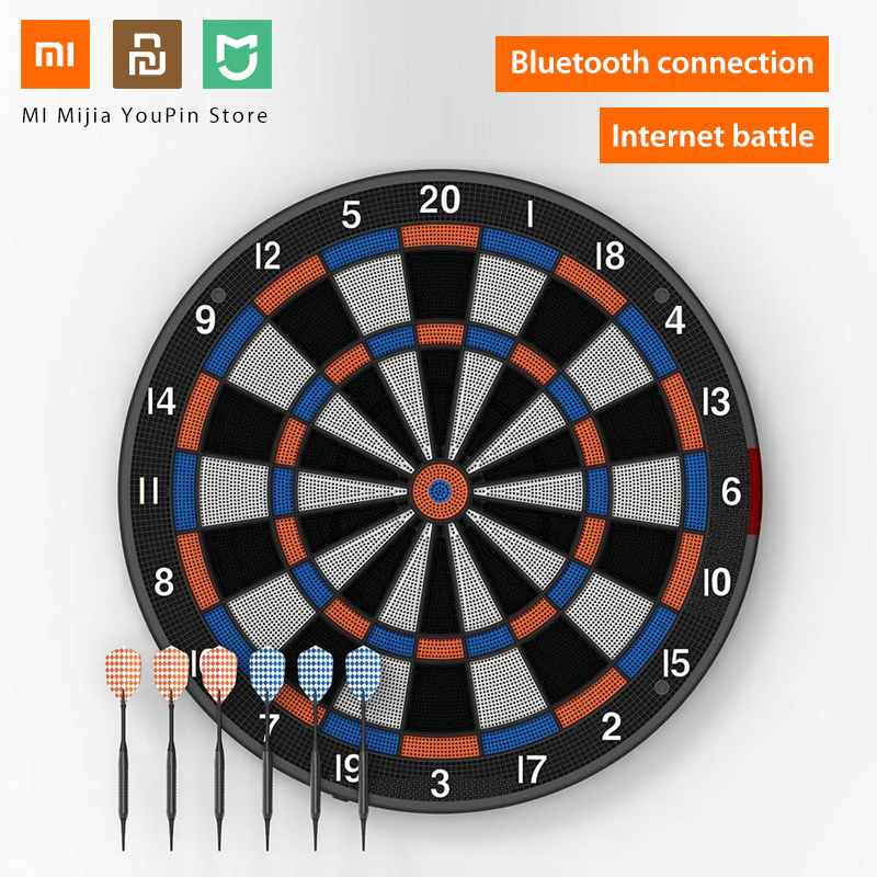 Xiaomi Youpin SDB Smart Dart Target Youth Edition A1 Bluetooth Connect Internet Share Data Enjoy Battle Search Smartdartboard