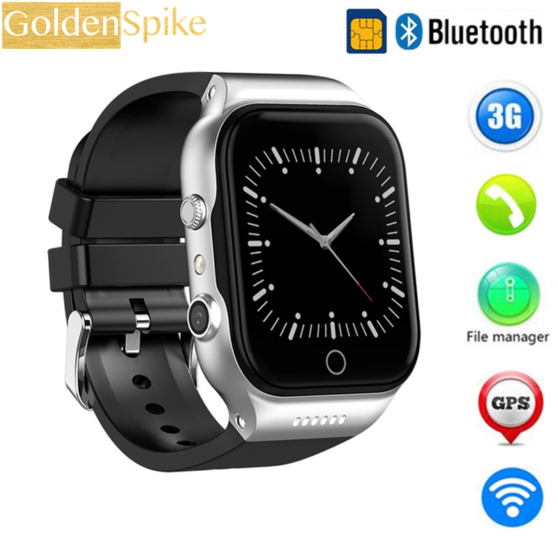 GOLDENSPIKE Smart Watch X89 MTK6580 Android 5.1Dual Core Battery 600MAH 512mb+8GB GPS WiFi Bluetooth 4.0 Smart Watch For PK KW06