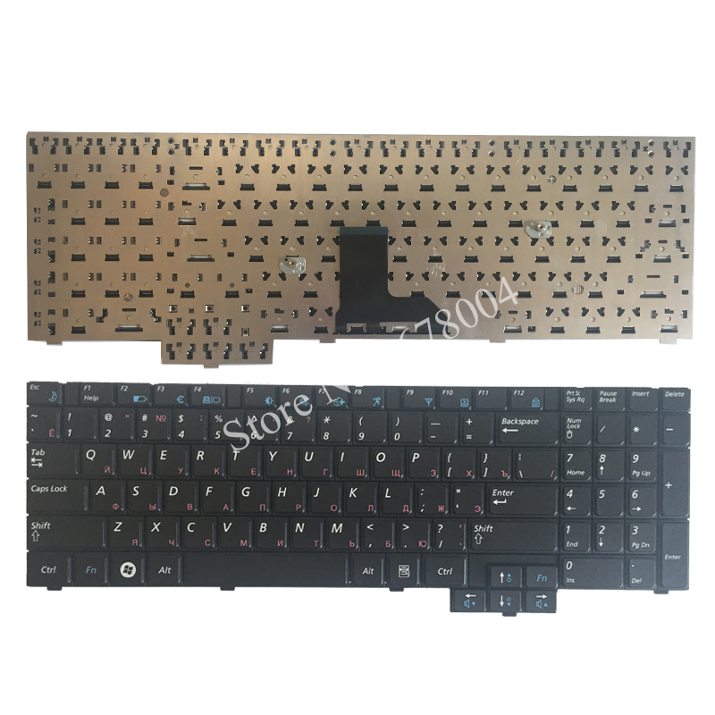 NEW Russian Keyboard For Samsung R719 NP-R719 R618 R538 P580 P530 RU Black WITH NUMBERPAD