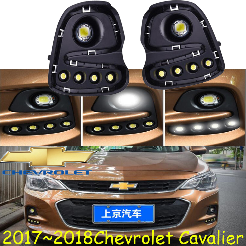 Cavalier daytime light,2017~2018 year!Free ship!LED,Cavalier fog light,2ps/set;Cruz;Cavalier daytime light Cavalier 2012 2015 d50 daytime light jazz free ship led d50 fog light 2ps set teana sylphy r50