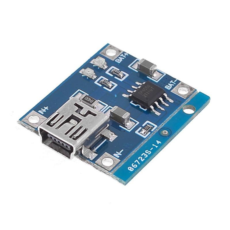 Image 4 - 5V 1A Lithium Battery Charging Board Charger Module Li ion LED Charging Board-in Parts & Accessories from Toys & Hobbies