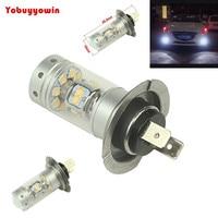 2Pcs 140W 28smd Sharp Chip LED Projector Plasma H7 Xenon White 6000K Bulbs For Car High