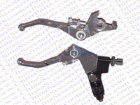 Folding Clutch Brake Lever 50CC 70CC 90CC 110CC 125CC 140CC CRF KLX Apollo Xmotos Kaya Dirt
