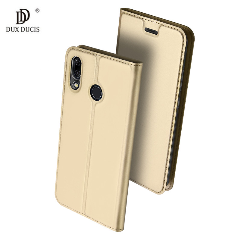 For Asus Zenfone 5z ZS620KL Case Luxury PU Leather Case For Asus Zenfone 5 ZE620KL Flip Cover Wallet Case Protective Phone Case