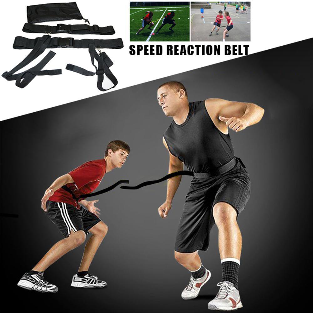 Lixada1 Basketball Football Soccer Agility Training Belt for Children//Adults Sport Evasion Belt Defensive Speed Reaction Training Straps