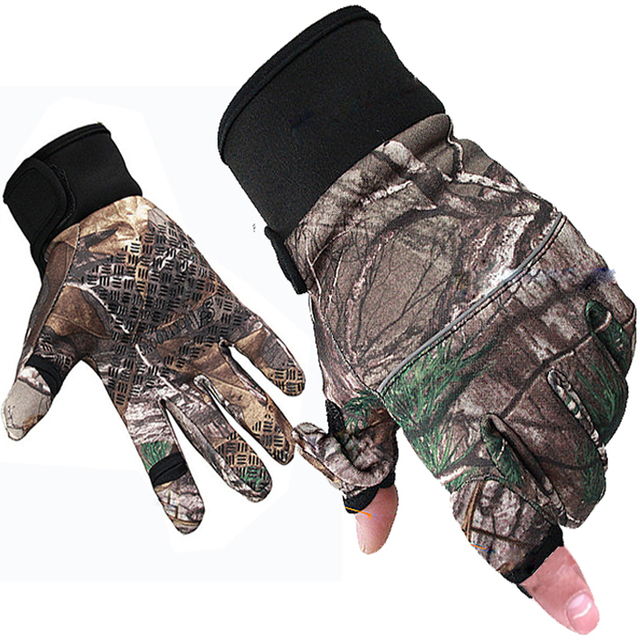 Tactical Gloves Full Finger Military Outdoor Hunting Fishing Gloves Hunter SWAT Sports Cycling Anti-Slip Camouflage Glove