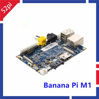 Free Shipping Original Banana PI Dual Core 1GB Memory 10 100 1000 Ethernet SATA Interface Powerful