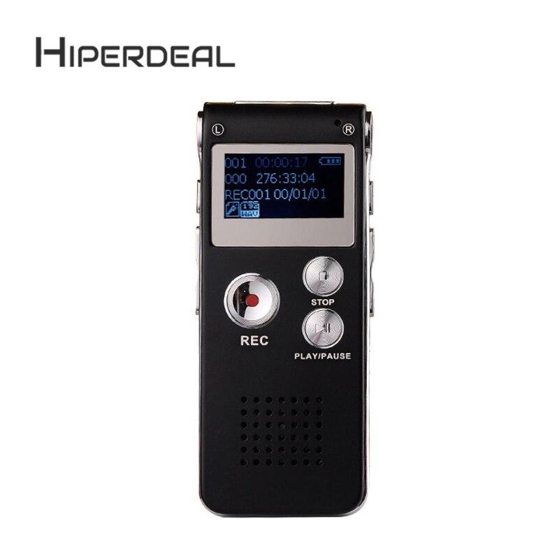 Digital Voice Recorder Unparteiisch Hiperdeal 8 Gb Digital Audio Voice Recorder Wiederaufladbare Dictaphone Usb Stick Mp3-player Uns Unterstützung Mehrsprachig Usb Sep22