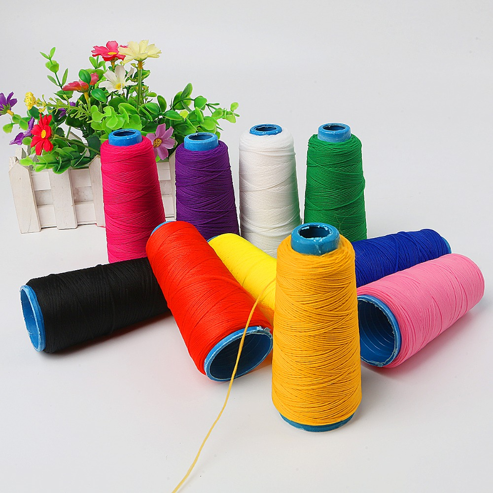 1PC 300M Multicolor Thread Nylon Elastic Filament Machine Sewing Thread For Embroidery Hand Silk Flower Sewing Accessories
