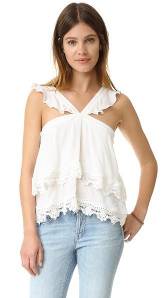 Encabeça blusas feminina primavera verão 2016 coreano mulheres moda de nova ruffled strapless renda branca dupla arnês colete feminino A1164