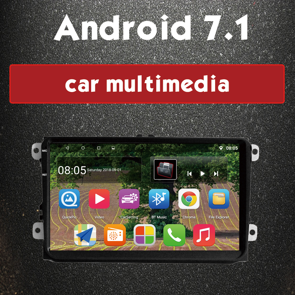 VW 9 inch Android 02
