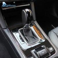 Airspeed Carbon Fiber for Subaru legacy 2015 2016 Subaru Outback Accessories Subaru Gear Shift Panel Cover Decoration Stickers