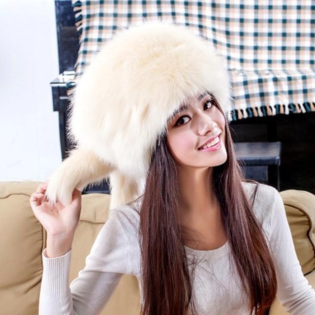 Russian Ushanka Fur Hats Sombrero Hombre Chapeu Feminino Mongolian Fur Hats Soft Warm Gorras