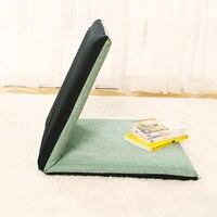 Fashion Easy Folding Single Small Bean Bag Sofa Comfortable Waist Protective Bed Backrest Chair Floor Lounger Bag Bean Sofas