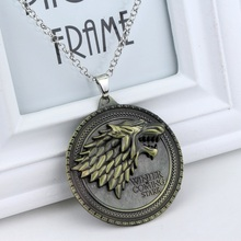 GAME OF THRONES Family Crests Pendant Necklace