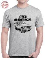 60 камней с FJ60 Land Cruiser ImageNew 20 18 хип хоп мужская и Мужская брендовая одежда модные футболки с коротким рукавом Футболка