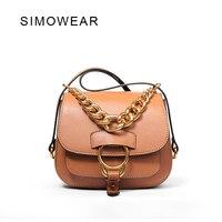 2016 Hot Sale Original Fashion Brand Design Women Genuine Leather Saddle Bag High Quality Real Cowskin