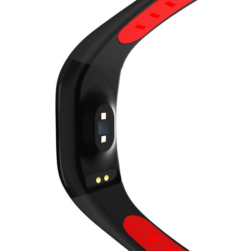 Nouveau populaire 1.14 ''grand écran IP68 étanche bracelets intelligents fitness Tracker Bracelet Bracelet intelligent pour Android et IOS - 6