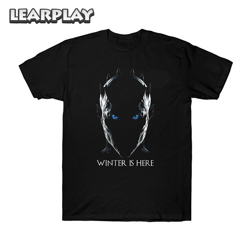 Night King Game Of Thrones T Shirt: Game Of Thrones T Shirt Night King Printing Cotton Tee