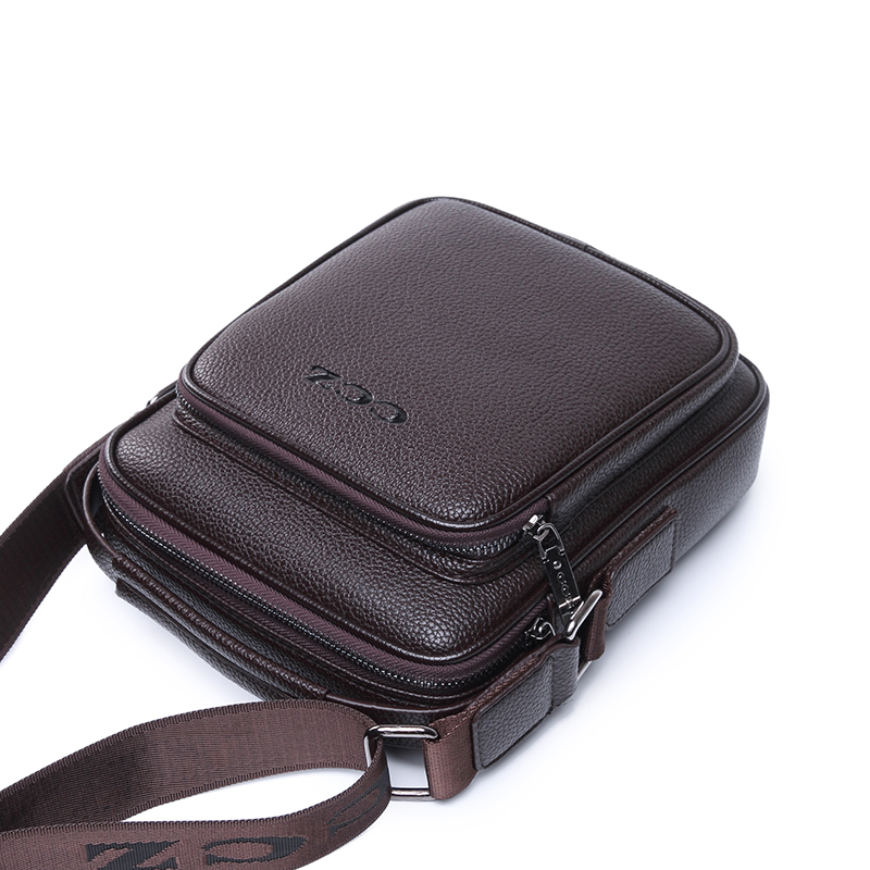 1550a66882d6 CCZ New Arrival Mens Shoulder Bags PU Leather Handbags For Men Solid  Pattern Brand Bags Small Messenger Bag For Business SL8003 on  Aliexpress.com