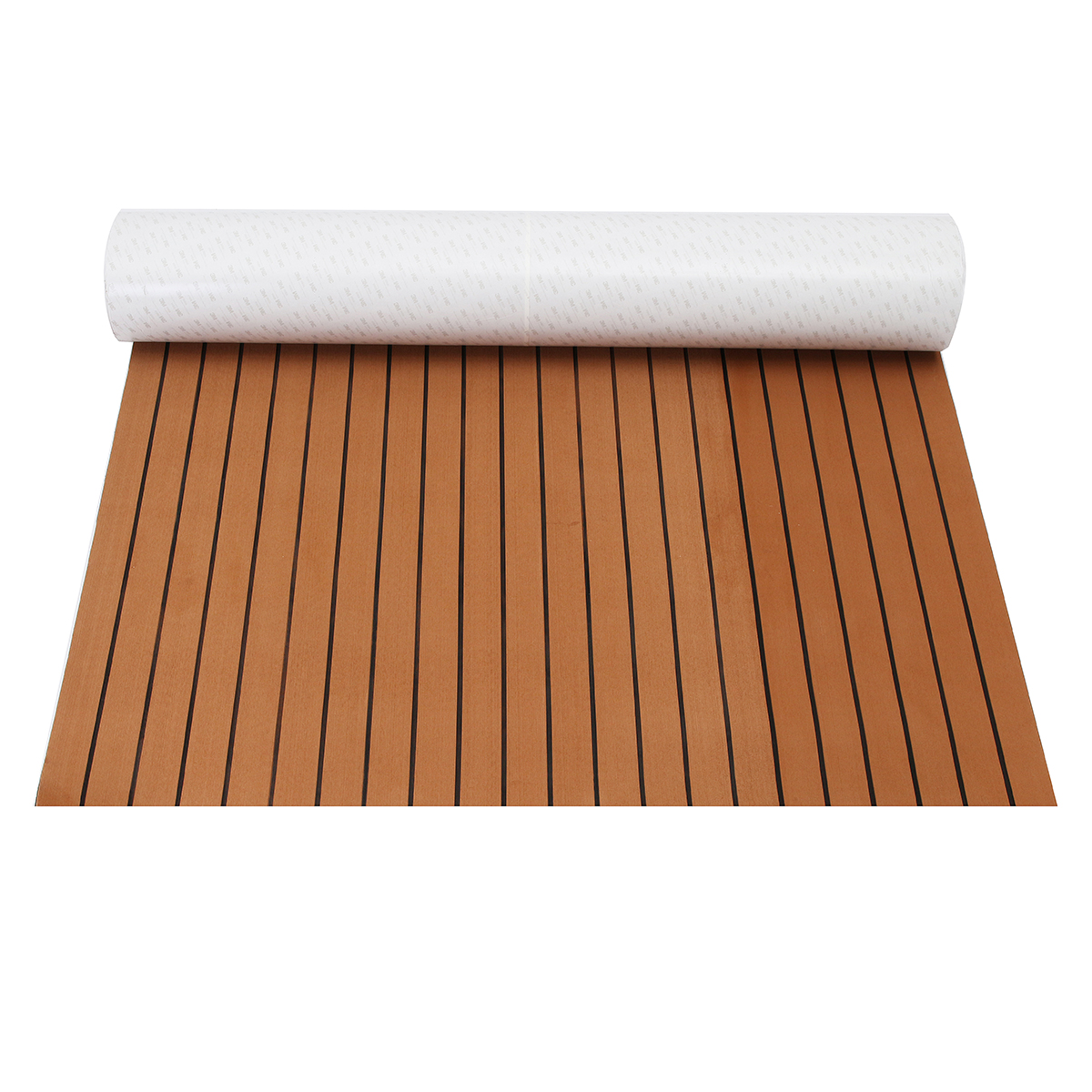 Image 4 - 120cmx240cmx5mm Self Adhesive EVA Foam Faux Teak Sheet Boat Yacht Synthetic Teak Decking Brown and Black Wholesale-in RV Parts & Accessories from Automobiles & Motorcycles