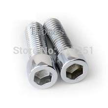 1 piece Metric Thread M8*25mm Stainless Steel Hex Socket Bolt Screws Fasteners