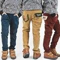 Бесплатная доставка детская одежда Boy брюки весна/осень новое прибытие вельвет boy досуг брюки