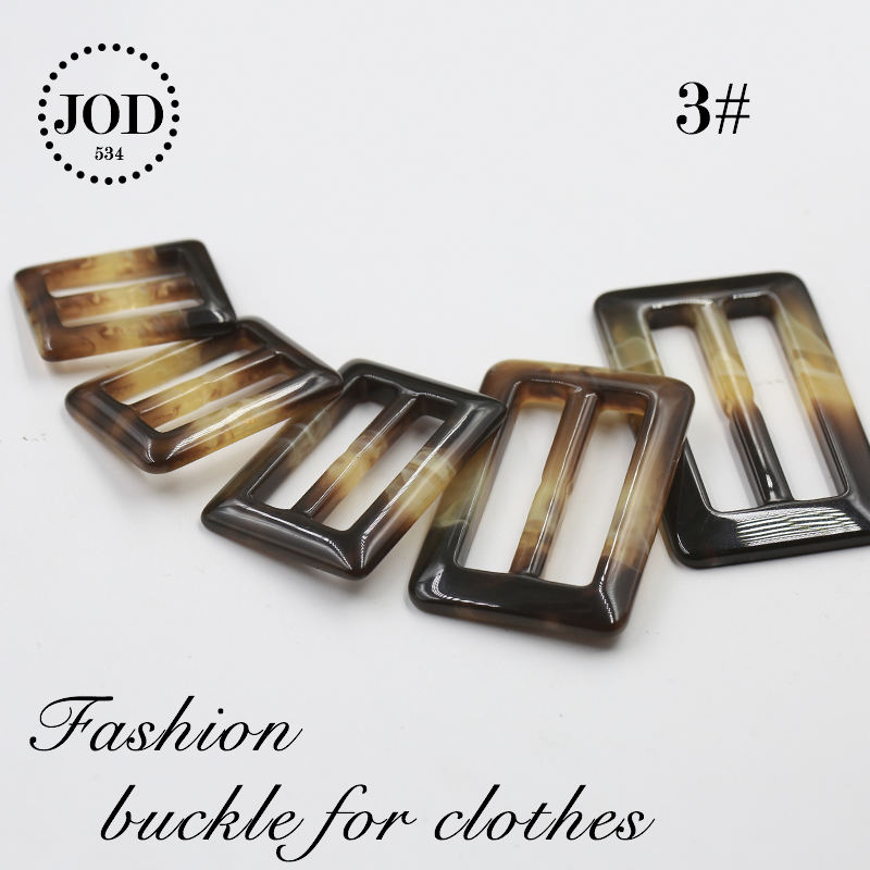 Apparel Sewing & Fabric Energetic 25/30/35/45/50mm Buckle For Clothes Scarf Adjust Buckle T-shirt Garment Accessories Knot Tri-glides Wire-formed Strap Jodb Home & Garden