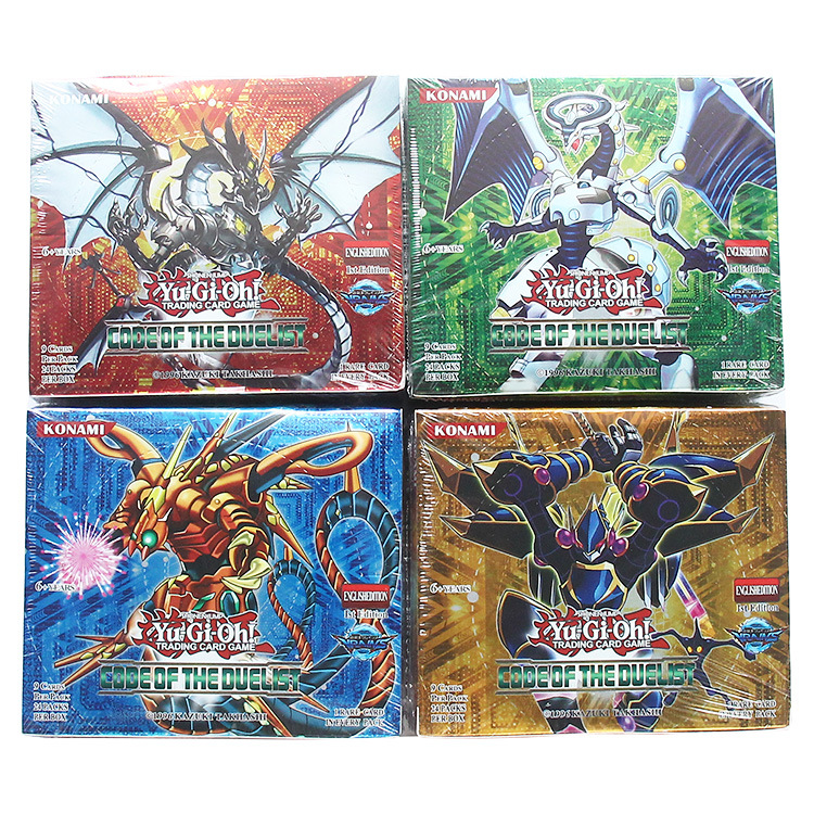 Yugioh 216 Pcs Set with Box Yu Gi Oh Anime Game Collection Cards Kids Boys Toys for Children Christmas Present image