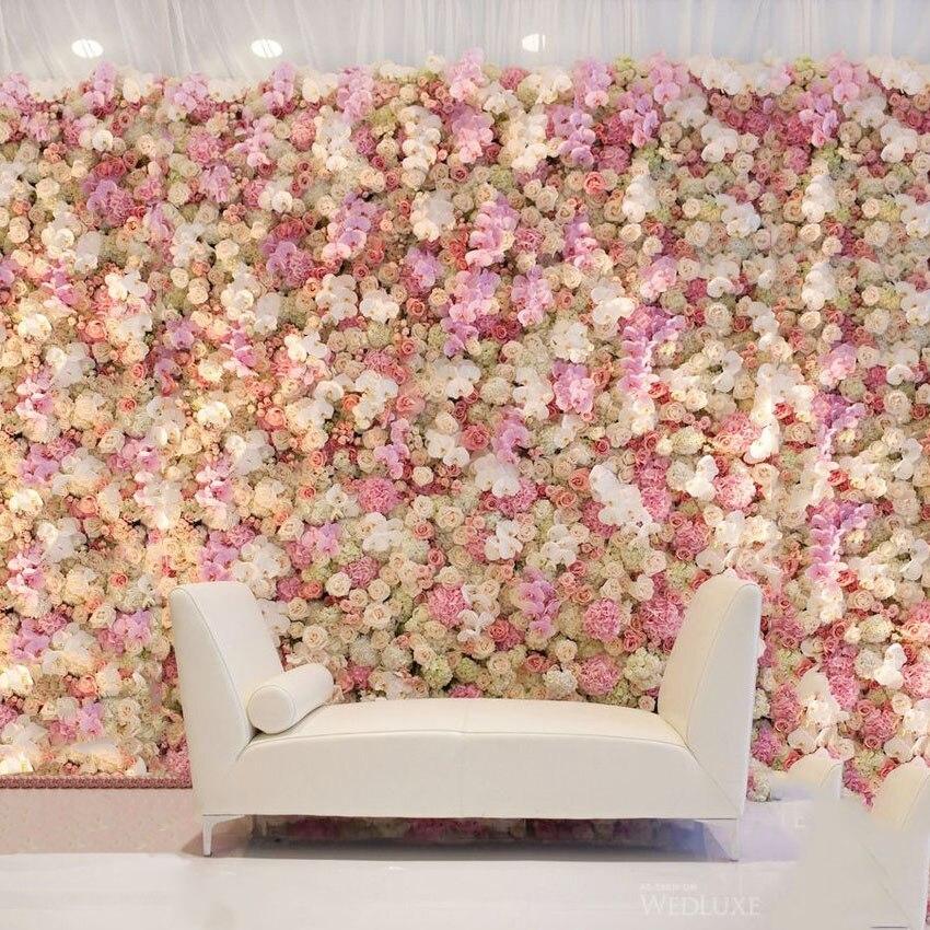 Diy Stoff Seide Blume Kunstliche Blumen Wand Hochzeit Dekoration
