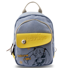 Anime Hatsune Miku Backpacks Shoulder Bag Cool Children Rucksack Casual School Bag Bookbag For Teenage Girls Mochila