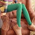Queda Bolha de veludo grosso conforto de amor collants listras Verticais foi finas Mulheres passo meias nos pés