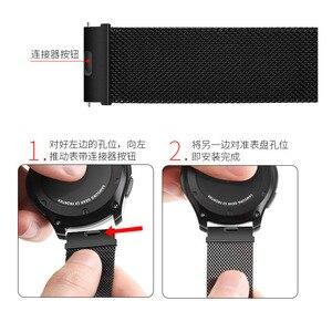 Image 3 - HOCO Chiusura Magnetica Milanese Loop Cinturino Per Samsung Galaxy Gear S3 Classico Cinturino Da Polso Per Samsung Gear S3 Frontier fascia