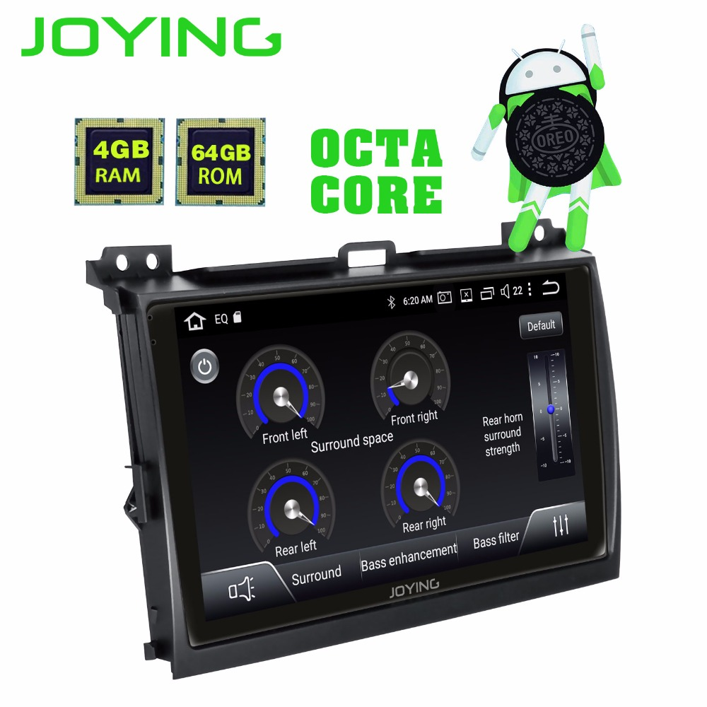 9 IPS Android 8 1 Car Radio Stereo Head Unit For Toyota Land Cruiser Prado 120