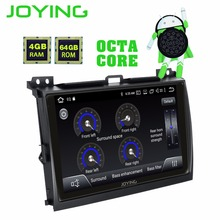 "9 ""IPS Android 8.1 Stereo Radio Unità di Testa Per Toyota Land Cruiser Prado (120) lexus GX470 2004-2009 No CD Player Buit-in DSP"