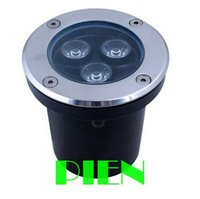 High Power 3W LED Buried Lamp Waterproof Outdoor Lighting Underground Lamps RGB White 12V 110V