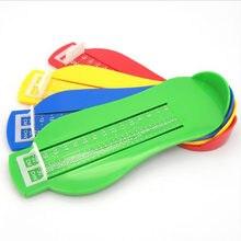 Малыш младенческой стопы Мера Калибр Обувь Размеры Линейка Инструмент для детской обуви для малышей Обувь фитинги Калибровочные стопы Измерьте