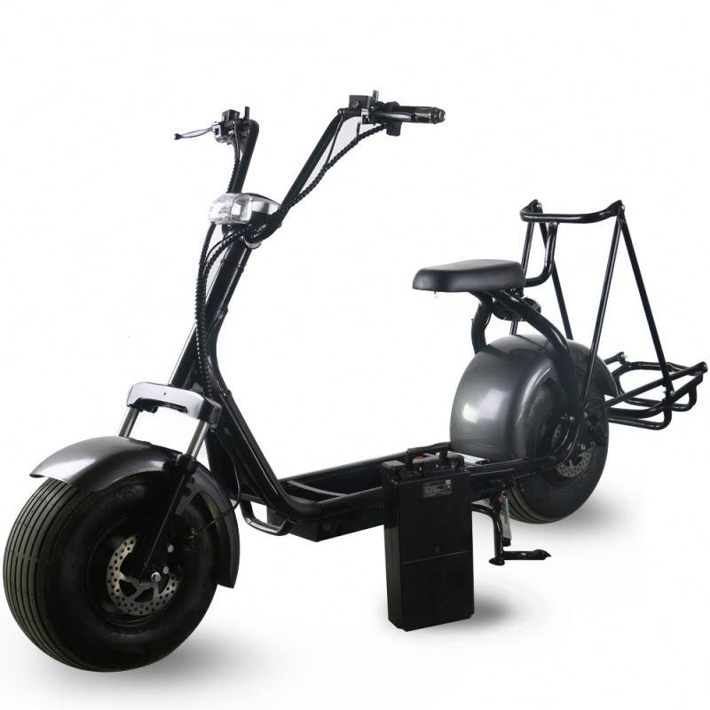 Scooter bonde do carrinho de golfe do scooter de golfe de 1000 w com bateria removível de 60 v 20ah