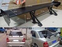 New Car Spoiler Universal Sedan GT Rear Trunk Wing Spoilers Deck Black