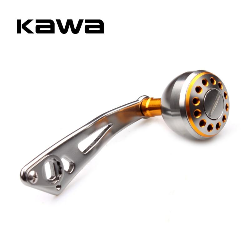 KAWA Fishing Reel Handle Aluminum Alloy Rocker Strong Durable Single Fishing Reel Handle For Baitcasting  Reel  Accessory