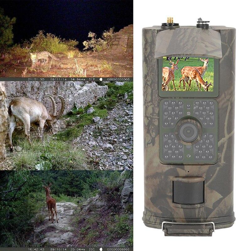 Night Vision 940nm Infrared Sports Hunting camera HC700G 16MP Trail Hunting Camera 3G GPRS MMS SMTP SMS 1080P