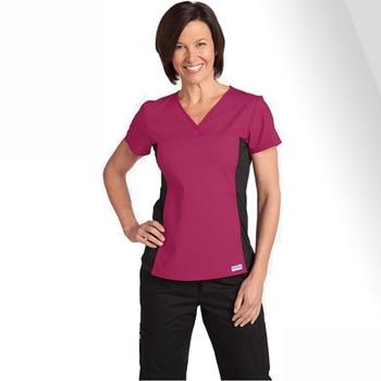 2017 New Arrival Hospital Medical Women Scrub Sets Dental Clinic Workwear Clothes Beauty Salon Overalls Nursing Clothing Uniform