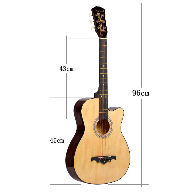 38 Inch Ballad Popularize Male And Female Beginners Practice Guitar Student38 Inch Ballad Popularize Male And Female Beginners Practice Guitar Student