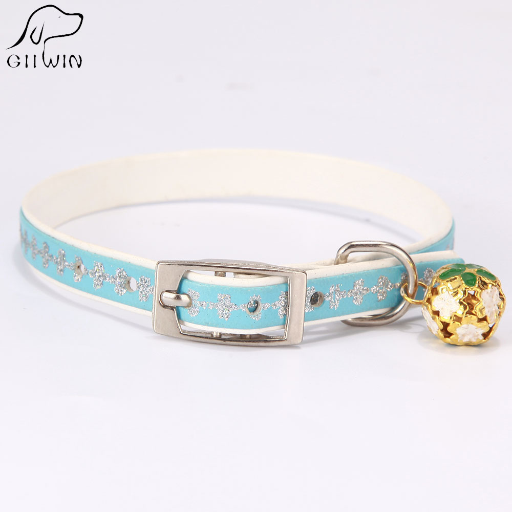 Cat Collar With Bell For Small Dogs Adjustable Cat Collar Pet Product For Puppies Dog Necklace Chihuahua Quick Release Ys0033