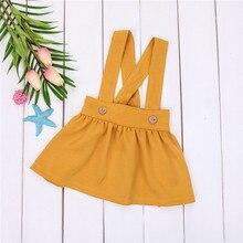 Новинка года; комбинезон для девочек; детская юбка на подтяжках для маленьких девочек; комбинезоны; праздничная одежда для детей 0-3 лет