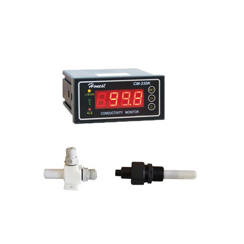 Industrial Online Conductivity Meter CM 230K 0 9999us 4 20mA Output